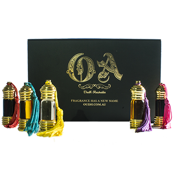 Natural Oudh Perfume brings you a special gift of 5 handcrafted perfumes